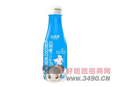 汁尚美生榨椰子汁植物蛋白�料500ml