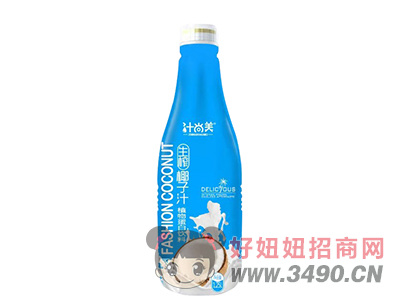 汁尚美生榨椰子汁植物蛋白�料1.25L
