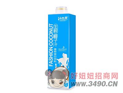 汁尚美生榨椰子汁植物蛋白�料1L