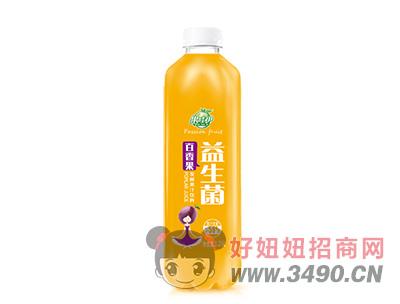果哇伊益生菌百香果�l酵果汁�料1.25L