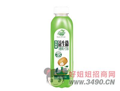 果哇伊益生菌�J猴桃�l酵果汁�料500ml
