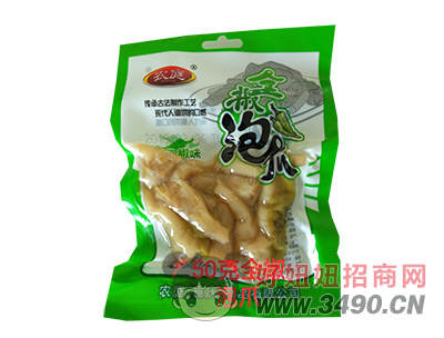 农庭50g泡椒凤爪