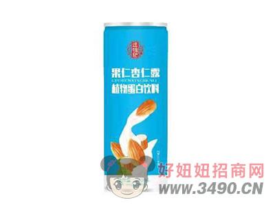 庄锦记果仁杏仁露植物蛋白饮料240ml