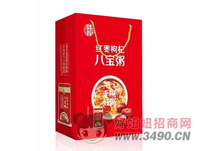庄锦记红枣枸杞八宝粥手提袋