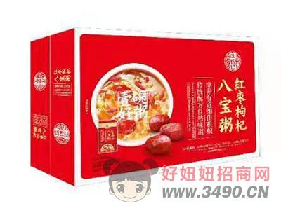 庄锦记红枣枸杞八宝粥箱装