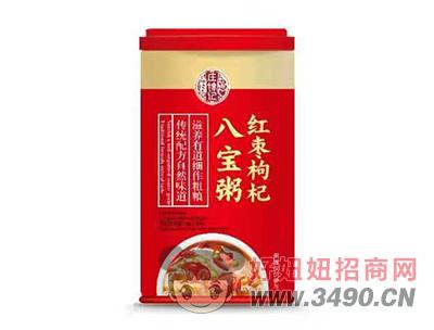 庄锦记红枣枸杞八宝粥罐装