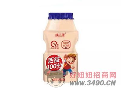 纯乐康活益100分乳酸菌饮品100ml
