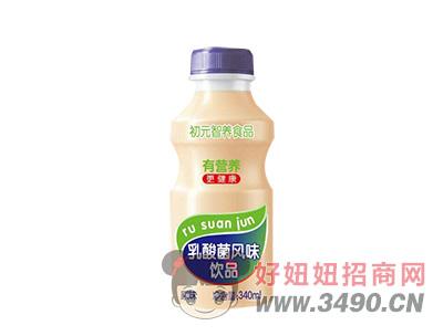 初元智养乳酸菌饮品340ml