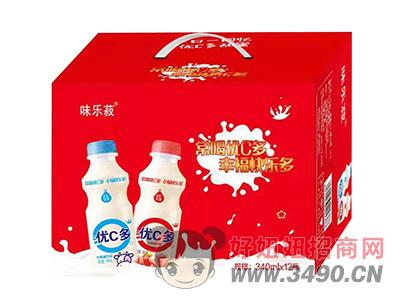 味乐菽优C多乳酸菌饮品340ml×12瓶