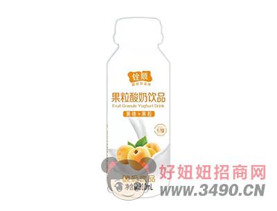 ���S桃+果粒酸奶�品310ml
