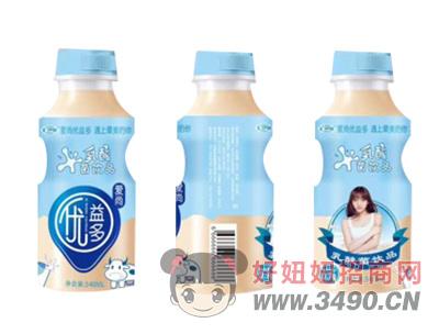 �R伊蒙�凵��益多乳酸菌�品340ml瓶�b