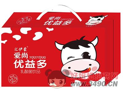 汇伊蒙爱尚优益多乳酸菌饮品红礼盒