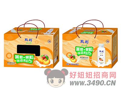 甄利黄桃+果粒酸奶饮品礼盒