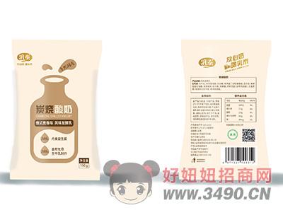 乳泰炭烧酸奶俄式焦香味风味发酵乳150g