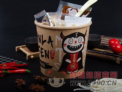 北京食烩人金针菇酸辣粉内包装