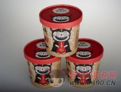 北京食烩人金针菇酸辣粉桶装