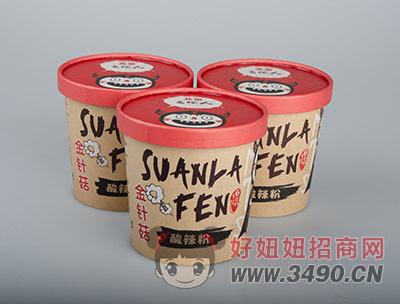 北京食烩人-金针菇酸辣粉