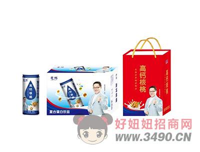 馨畅复合蛋白饮品高钙核桃240ml
