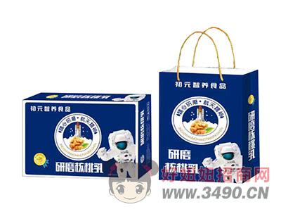 初元智养食品研磨核桃乳礼盒+箱装
