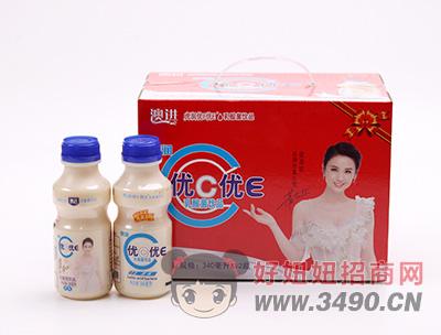 虎润优C优E原味乳酸菌lehu国际app下载340ml×12瓶
