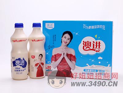 澳进原味乳酸菌lehu国际app下载1L×8瓶