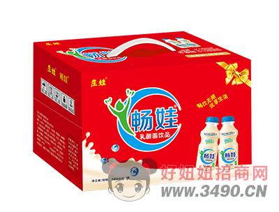 庄娃畅娃乳酸菌lehu国际app下载340ml×12瓶