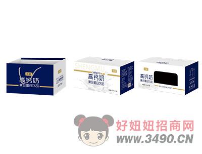 圣慕高钙奶复合蛋白lehu国际app下载250ml×12盒