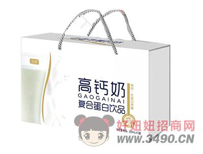 圣慕无蔗糖高钙奶复合蛋白饮品250ml×12盒