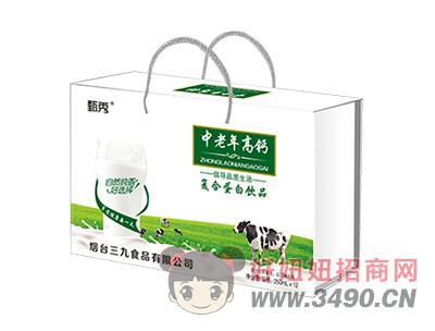甄秀中老年高钙复合蛋白lehu国际app下载250ml×12