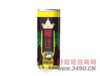 正宗椰汁罐装240ml