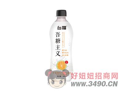 台福卡曼橘味苏打气泡水
