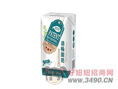 健舒清畅酸奶×200g