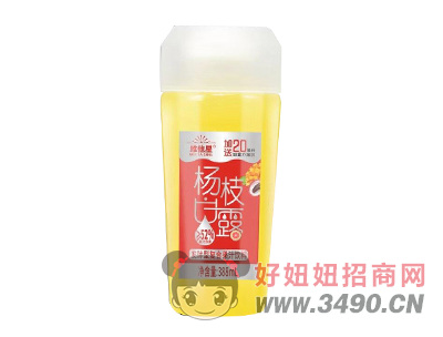 维他星杨枝甘露发酵型复合果汁饮料388ml