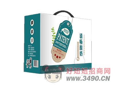 健舒清畅酸奶200g×10盒