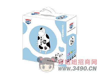 手挤一头牛牧场纯牛奶12袋×180ml