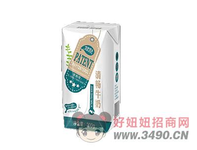 清畅牛奶×200g