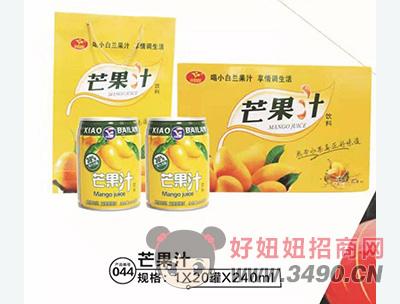 小白兰芒果汁箱装