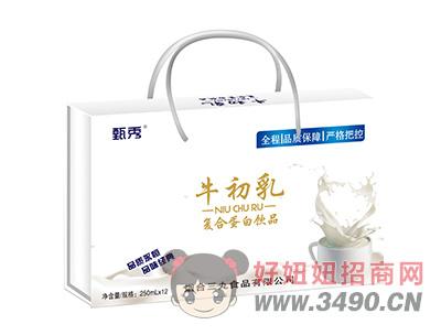 甄秀牛初乳复合蛋白饮品250ml×12礼盒