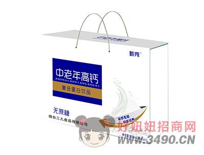 甄秀中老年高钙无蔗糖复合蛋白lehu国际app下载250ml×12礼盒