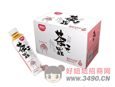茶无罪蜜桃乌龙茶500ml×15瓶
