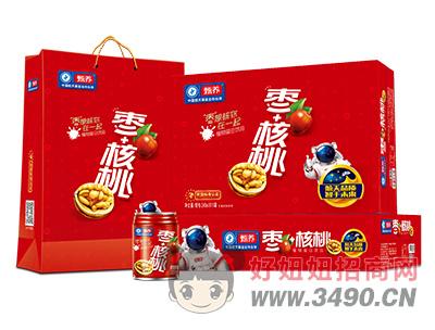 甄养枣+核桃植物蛋白饮品240ml×16罐