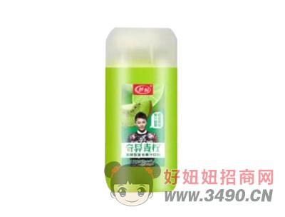 妙畅奇异青柠发酵型复合果汁饮料410ml