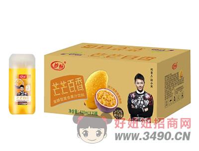 妙畅奇芒芒百香发酵型复合果汁饮料410ml×15瓶