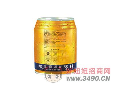 牛郎功能饮料左视图×250ML