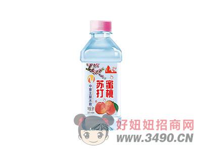 中事王屋水能苏打水蜜桃味350ml