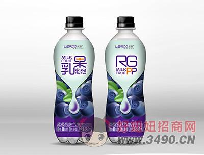 蓝莓乳味气泡水480ml