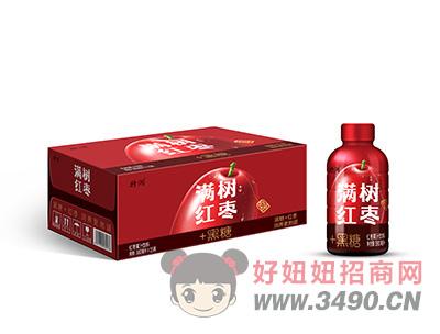 特润红枣果汁饮料箱装380mlx15瓶