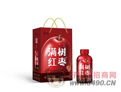 特润红枣果汁饮料手提袋