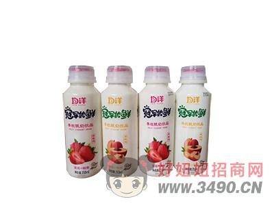 均洋果粒酸奶lehu国际app下载350ml