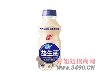 乳酸菌风味lehu国际app下载益生菌原味340ml